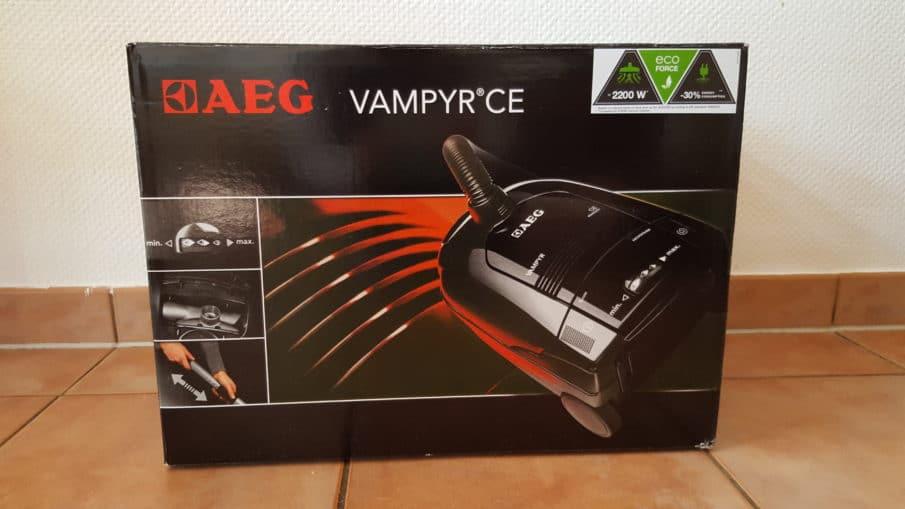 AEG Vampyr CEANIMAL Staubsauger mit Beutel - Originalverpackung