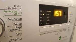 Beko WMB 61632 PTEU Waschmaschine Frontlader mit Pet Hair Removal im Test - Anzeige