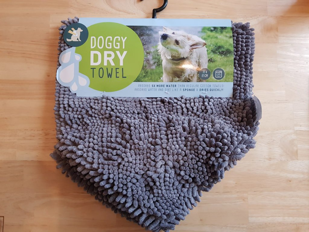 Doggy Dry Pet Towel Mikrofaser Hundehandtuch